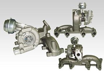 ARSpeed - Turbocompresor para A3 8L, Bora, Gold IV y Sharan 1.9 TDI (código de motor: ASV, ATD, ALH y AUY): Amazon.es: Coche y moto
