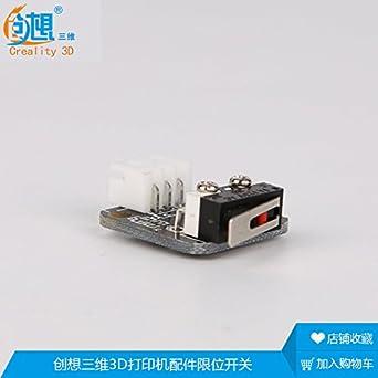 Heasen - Juego de accesorios para impresora 3D, interruptor de ...