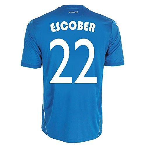 回転バン登るJoma Escober #22 Honduras Away World Cup 2014/サッカーユニフォーム ホンジュラス アウェイ用 ワールドカップ2014 背番号22 エスコバル