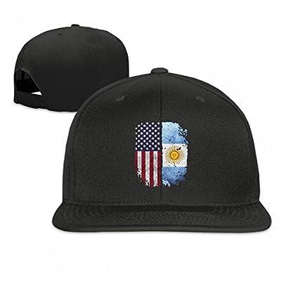 American Argentina Football Flat-brimmed Hip-Hop Style Baseball Hat Outdoor Snapback