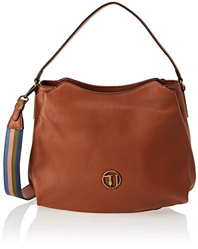 36x28x11 w H Borsa 9y099999 Trussardi A L Jeans X Marrone leather Donna 75b00429 Spalla Cm gPgw0z