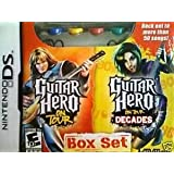 Nintendo DS Guitar Hero on Tour & on Tour Decades Box Set