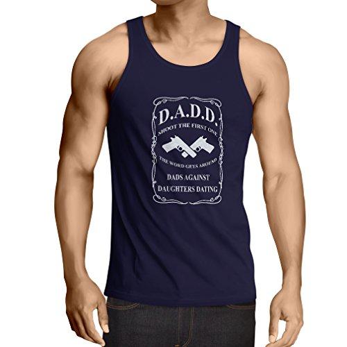 Camisetas de Tirantes para Hombre Papás contra Las Hijas Que fechan Las Camisetas Divertidas para los Regalos Divertidos del...
