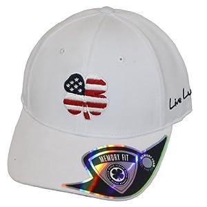 Black Clover USA Luck #2 Hat, Navy/White, Small/Medium