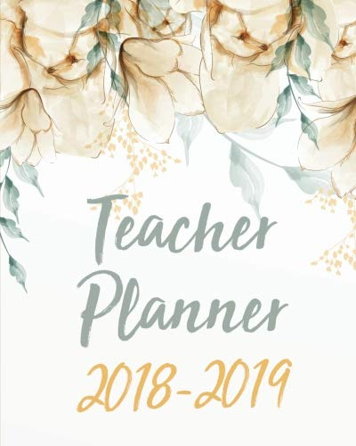 Music Teachers Record Book - Teacher Planner 2018-2019: Weekly and Monthly Teacher Planner,  Lesson Planner and Record Book 8 x 10 inches,  150 pages (August 2018 through July ... and Record Book 2018-2019 Series) (Volume 3)