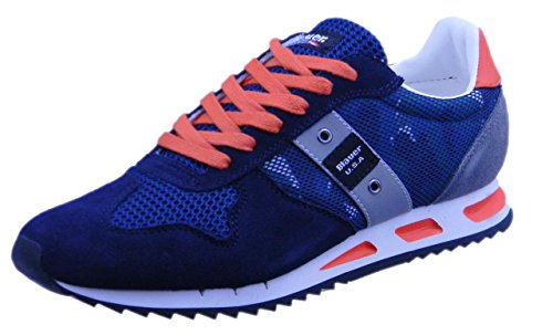 Sport Bleu Usa Chaussures 8s Uomo 02 Blauer Memphis 8smemphis02 De EqF6wxZ1