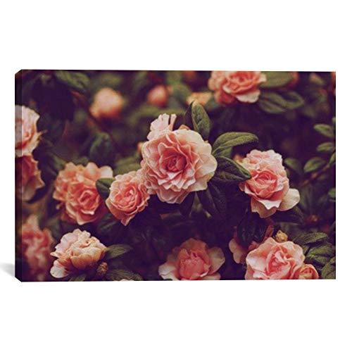 MightySkins Vintage Roses Artwork   Choose from Canvas or Art Print   Living Room, Bedroom, Office, Bathroom Wall Decor Art Ready to Hang para El Hogar Decoracion   48 x 32