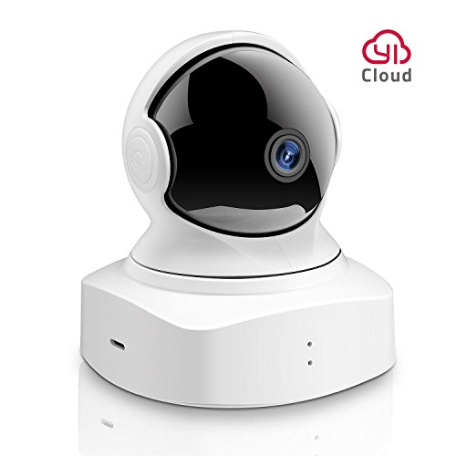 YI Cloud Home Camera, 1080P HD Wireless IP Security Camera Pan/Tilt/Zoom Indoor Surveillance System with Night Vision, Motion Detection and Baby Crying Detection, Remote Monitor with iOS, Android App Camera Tracking System