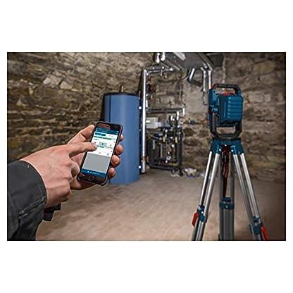 Bosch Professional 18V System Akku LED-Baustellenlampe GLI 18V-2200 C (max. Helligkeit 2.200 Lumen, Connect Ready, ohne Akkus und Ladegerät, im Karton) 5