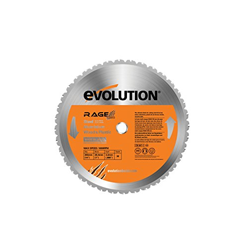 Evolution Power Tools RAGE355Blade Multi-Purpose Cutting Blade for RAGE2, 14-Inch ()