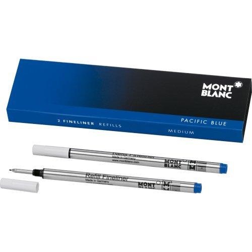 Montblanc Fineliner Refills (M) Pacific Blue 110150 / Pen...