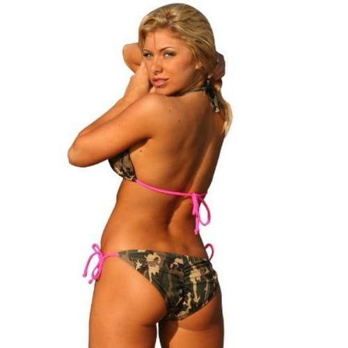 29f08d04e84dd Ujena Camo Colombian Camouflage String Bikini - Top