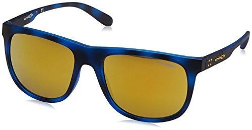 Hombre Gafas Matte Arnette Grind Sol Havana 56 de para Crooked Blue qxEOY
