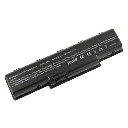 Futurebatt 6 Cell 5200mAh Laptop Battery for Gateway NV52 NV53 NV54 AS09A51 AS09A61 AS09A71 AS09A56