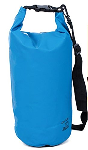 Blue Water Barometer - Mitef Waterproof Dry Bag Roll Dry Compression Sack Keeps Gear Dry For Outdoor Water Sports,10L,Blue