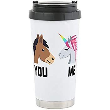 Amazon.com: Bigfoot Riding a Unicorn – Taza de viaje de ...