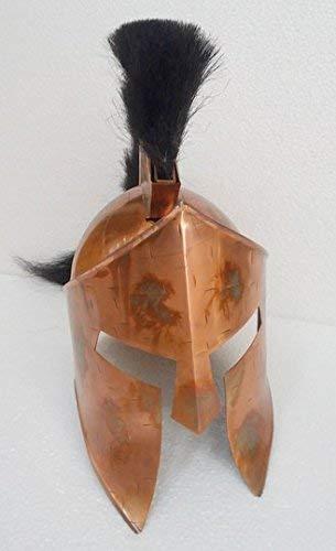 HANDMADE VINTAGE ART Collectibles Reenactment Medeival 300 Spartan King Leonidas Armour Helmet Gift