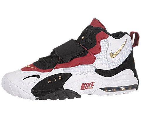 Nike Air Max Speed Turf Mens Cross Training Shoes 525225-101 Black 8 M US