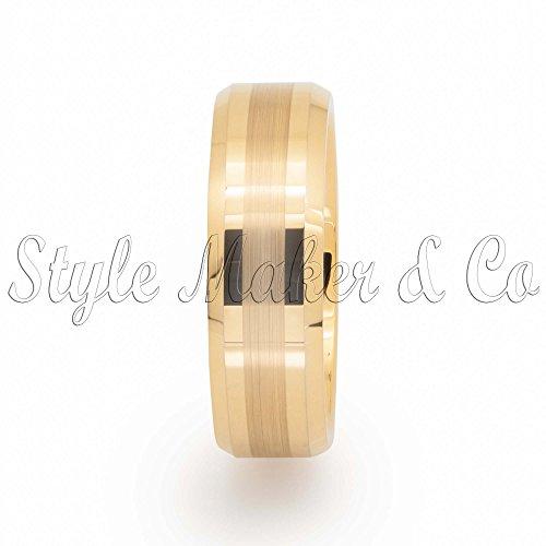 tungsten-carbide-ring-mens-wedding-band-gold-brushed-7-13