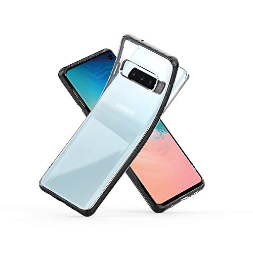 Zebrago Samsung Galaxy S10 Case,Ultra Slim Clear TPU Cushion/Hybrid Rigid Back Plate/Reinforced Corner Protection Cover for Samsung Galaxy S10 Phone