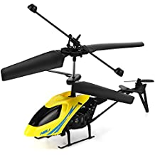 YOOYOO Mini RC Helicopter Shatter Resistant 2.5CH Flight Toys with Gyro System