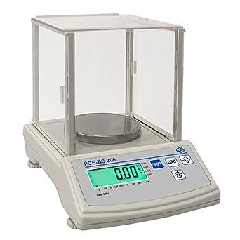 PCE Instruments - Balanza compacta de la serie PCE BS 300: Amazon.es: Industria, empresas y ciencia