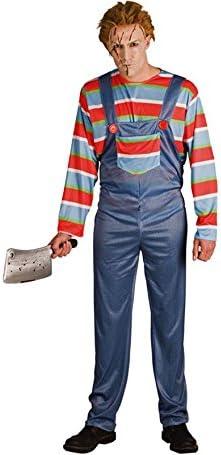 Disfraz de Muñeco Chucky para hombre: Amazon.es: Juguetes y juegos