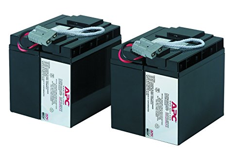 APC UPS Replacement Battery Cartridge for APC UPS Models SMT2200, SMT3000 and select others (RBC55) by APC