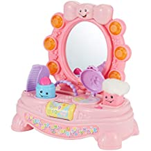 Fisher-Price Laugh & Learn mágico Musical espejo, M, Rosado