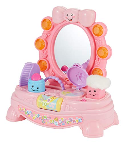 Fisher-Price Laugh & Learn Magical Musical Mirror [Amazon Exclusive] (My Dog Has Two Sets Of Balls)