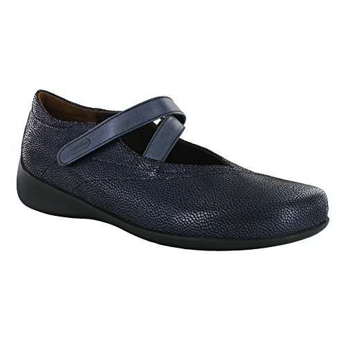 Wolky Comfort Mary Janes Nobile Caviale Blu