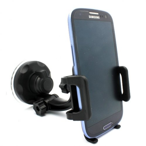 (Selna Windshield Car Mount Window Glass Phone Holder Swivel Cradle Dock for Sprint Samsung Galaxy S5 Sport - Sprint Samsung Galaxy Victory - Sprint Samsung Transform M920 - Sprint Samsung Nexus S 4G - Sprint Samsung Epic 4G Touch SPH-D710)