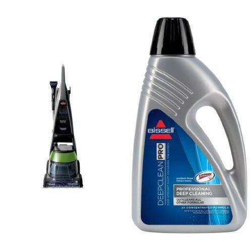 BISSELL DeepClean Premier Pet Carpet Cleaner, 17N4 and Bissell 78H6B Deep Clean Pro 2X Deep Cleaning Concentrated Formula, 48 ounces Bundle by Bissell
