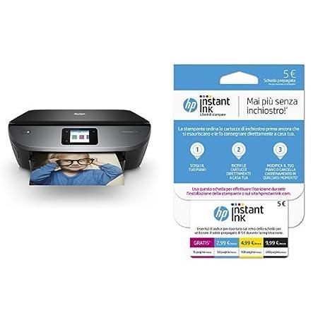 HP ENVY Photo 7130 Stampante Multifunzione con 4 Mesi di Prova Gratuita del Servizio Instant Ink Z3M47B#BHC