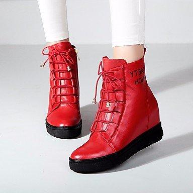 Botas de mujer Primavera Confort Casual PU Black