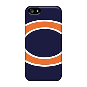 For Iphone 5/5s Premium Tpu Case Cover Chicago Bears Protective Case