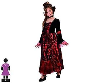 Atosa - Disfraz de vampiresa para niña, talla 3-4 años ...