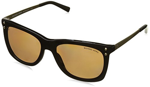 Michael Kors Women's 0MK2046 Black/Gold Mirror One ()
