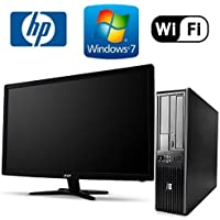 Workplace Computer: HP DC7800 SFF Desktop Pc Bundle - Amazing Intel Core 2 Duo @ 3.0ghz - New 1tb HDD w/ 2 Year Warranty- Loaded 8gb RAM - Windows 7 Professional 64-bit - DUAL Monitor Support - WIFI Installed - Dvd-rom (From ReCircuit)