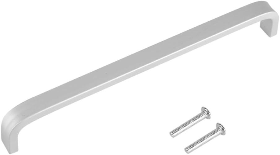 Tirador para puerta de aleación de aluminio Tornillos Incluye 4piezas tirador Blindada Dial Giratorio Puerta Blindada tirata Puerta Tirador para ducha puerta ventana Cocina