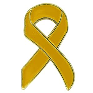 US Flag Store Yellow Ribbon Flag Lapel Pin