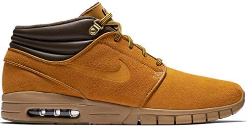 (NIKE Stefan Janoski MAX MID PRM Mens Skateboarding-Shoes AV3610-779_8 - Bronze/Bronze-Gum Light Brown)