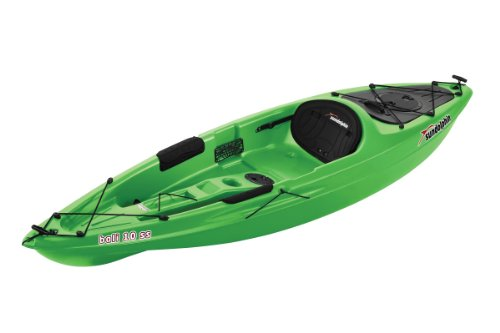 Sun Dolphin Bali SS Sit-on top Kayak (Lime, 10-Feet) (Kayak Sit Pelican On)