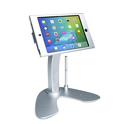 CTA Digital PAD-ASKM Dual Security Kiosk Stand with Locking Case and Cable for iPad Mini Gen. 1-5