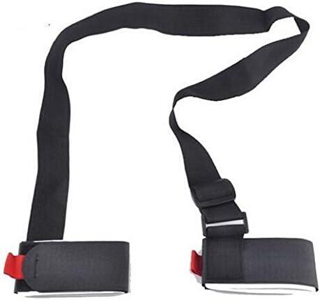 Ducomi/® SkiHold/-/Portaesqu/í para adultos y ni/ños simple y seguro para poder llevar tu equipo.