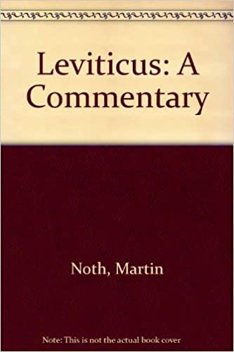 Leviticus - a commentary