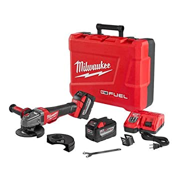 Milwaukee 2783-22HD M18 FUEL High Demand 4-1 / 2 / 5 Braking Grinder Kit