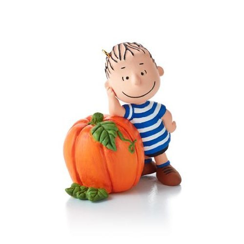 Hallmark Keepsake Ornament The Peanuts Gang Waiting for The Great Pumpkin 3rd in Series -