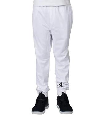 Nike Boy de Jordania Malla Jogger - Pantalones Deportivos, Blanco ...