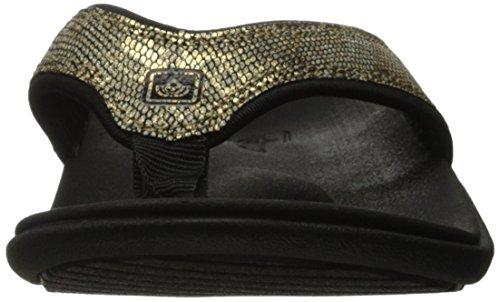 Flip Flop Yumi Python Women's Spenco Gold q0BYn